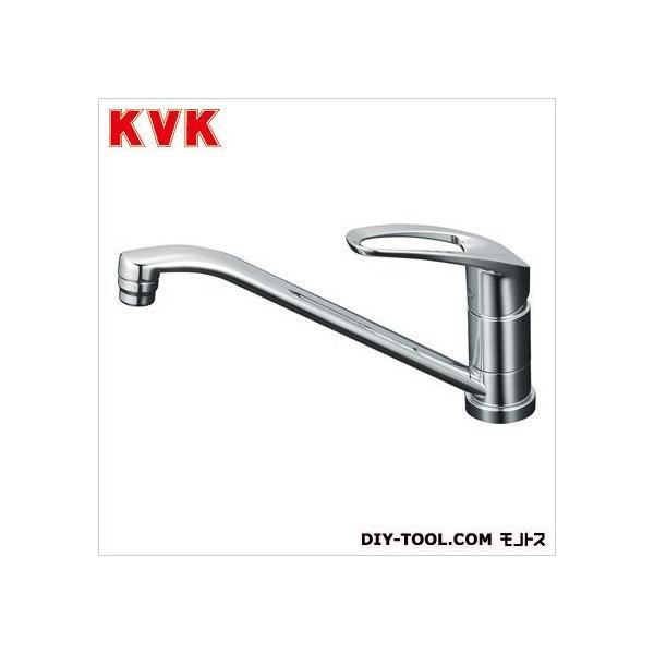 KVK 流し台用シングルレバー式混合栓 奥行×高さ:262×584mm KM5011ZT 1