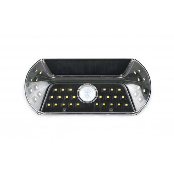 VIGIL(ビジル) ソラー人感センサーライト Black KL-10378