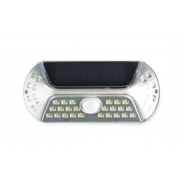 VIGIL(ビジル) ソラー人感センサーライト Silver KL-10379