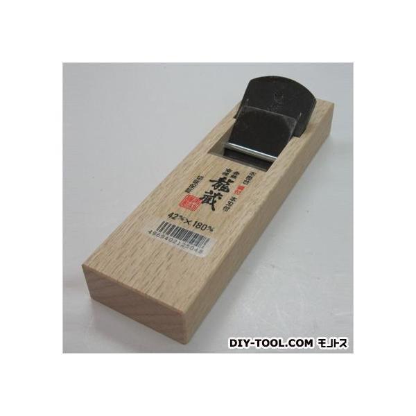 角利産業 龍蔵ミニ鉋 サイズ:台寸法/58×180mm、有効削幅/36mm、刃幅/42mm 12504 0