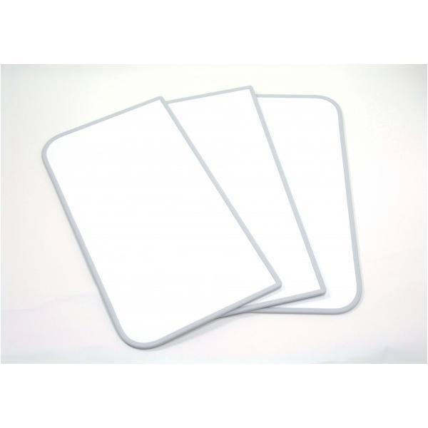 東プレ 風呂ふた 組み合わせ式 センセーション(3枚割) ホワイト/ホワイト 68×118cm U12
