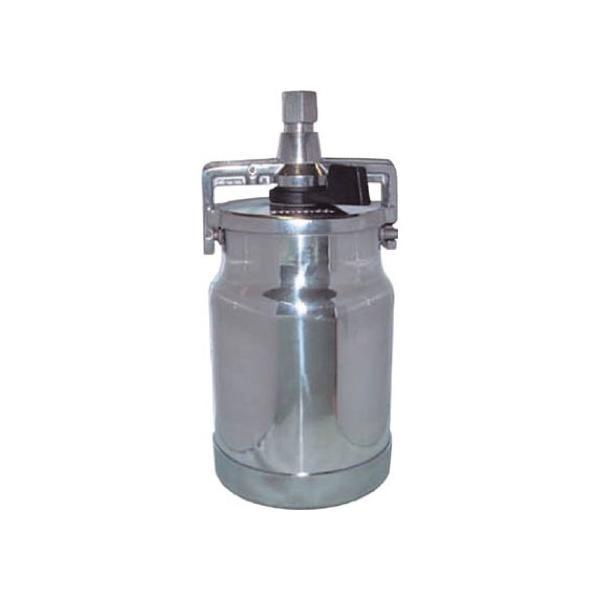 デビルビス 吸上式塗料カップアルミ製レバータイプ(容量1000cc)G1/4 236 x 115 x 112 mm KR-555-2 0