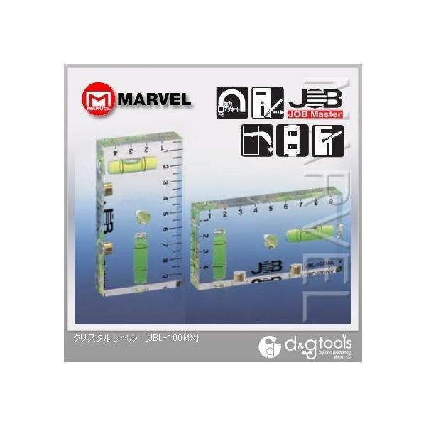 マーベル JOB クリスタルレベル 水平器 JBL-100MX 1