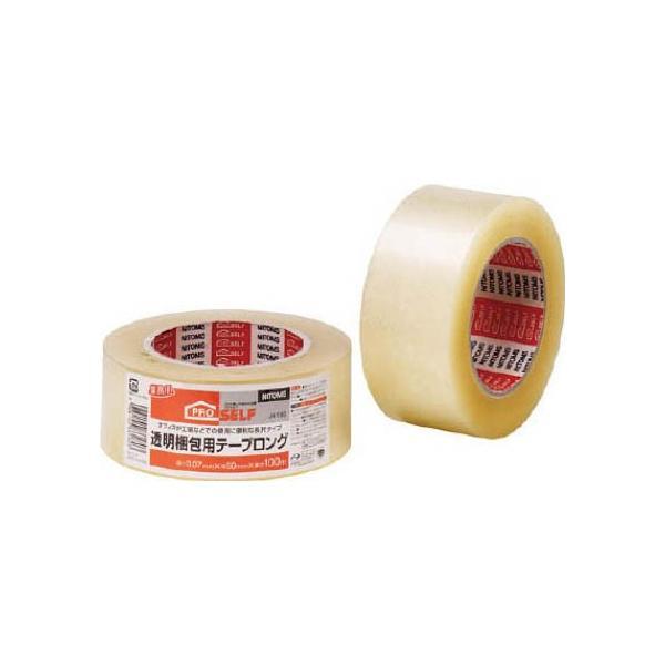 ニトムズ 透明梱包用テープロング 123 x 122 x 51 mm J6180