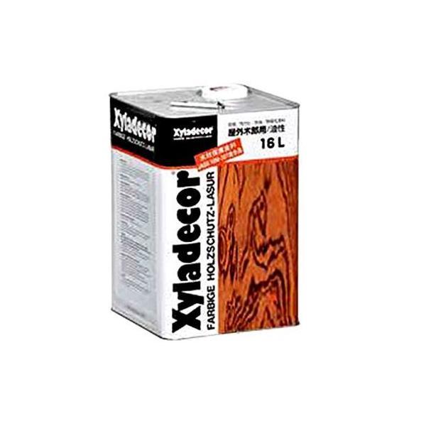 大阪ガスケミカル キシラデコール/高性能木材保護着色塗料 ジェットブラック 16L #112