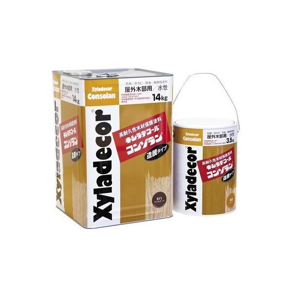 キシラデコール コンゾラン オリーブ #510 1缶