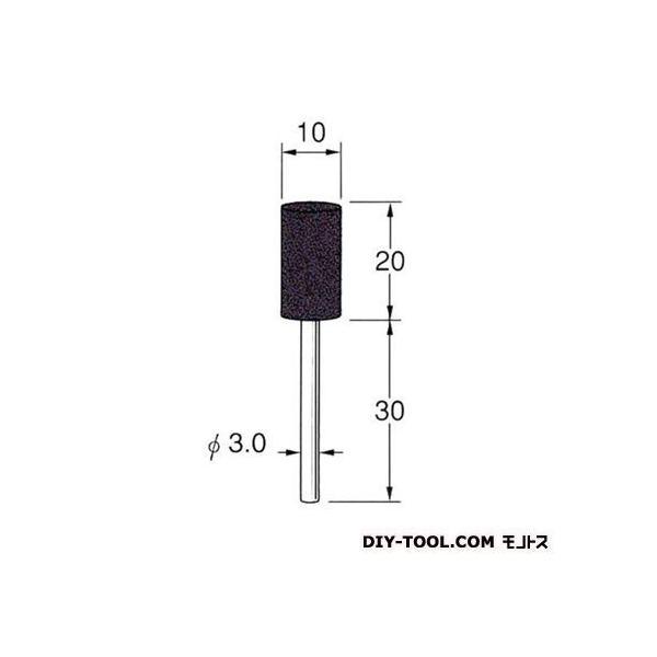日本精密機械工作 セラミックゴム砥石 先端径:10粒度:#220 R2244 0