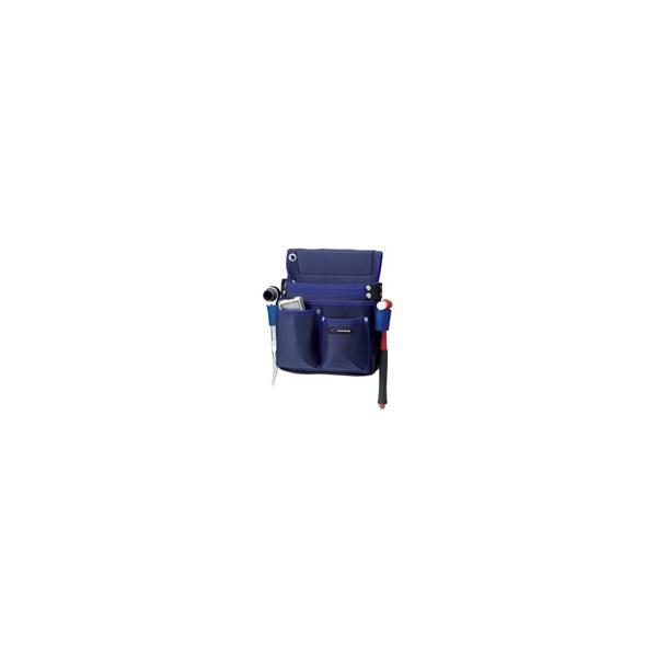 プロスター PS R 1680D マチ付釘袋 仮枠工具差付 ブルー H310×W260×D145mm PS-33R 1
