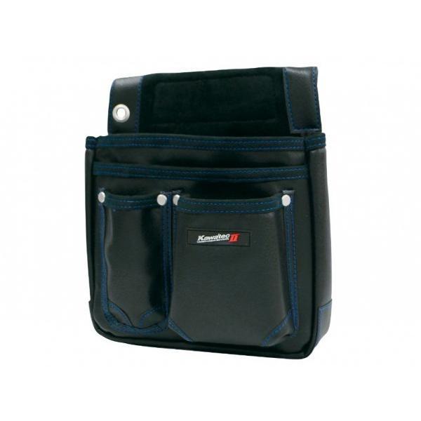 プロスター KawatecIIマチ付釘袋棟梁型 ブラック H270×W240×D130mm KW-725B 1