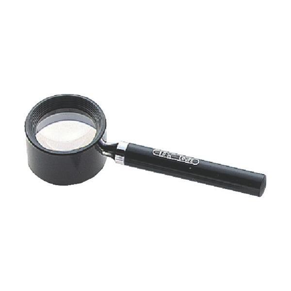 シンワ測定 ルーペR-2高倍率10倍柄付虫メガネ 28mm 75565 1