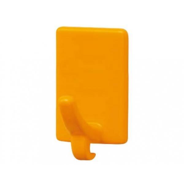 シロクマ プチフック付フック オレンジ 50 C-202 1個