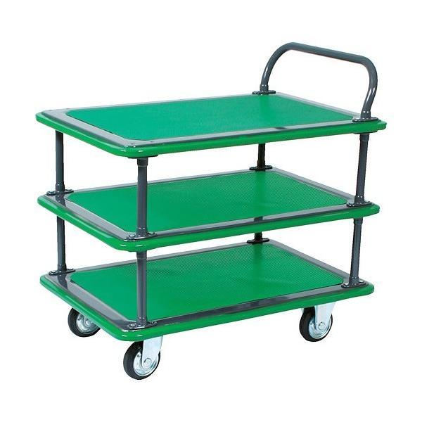 ※法人専用品※トラスコ(TRUSCO) ハイグレード運搬車3段片袖型946X646 1