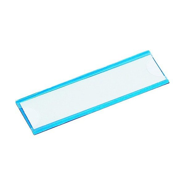トラスコ(TRUSCO) マグネット式見出しプレート25X110青10枚入 112 x 54 x 8 mm MGP25X110B 10枚
