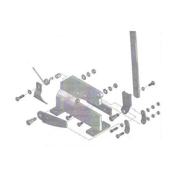 トラスコ(TRUSCO) P−1用六角ナットNO.16 112 x 70 x 8 mm P1016