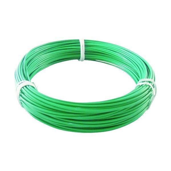 トラスコ(TRUSCO) カラー針金ビニール被覆タイプ2.0mmX25m緑 159 x 162 x 32 mm TCWM-20GN
