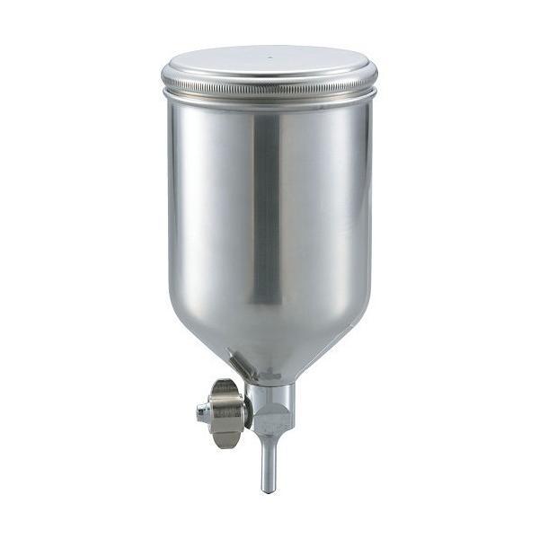 トラスコ(TRUSCO) ステンレス塗料カップ重力式用容量0.4L脚付 87 x 88 x 180 mm TGC-04C 1