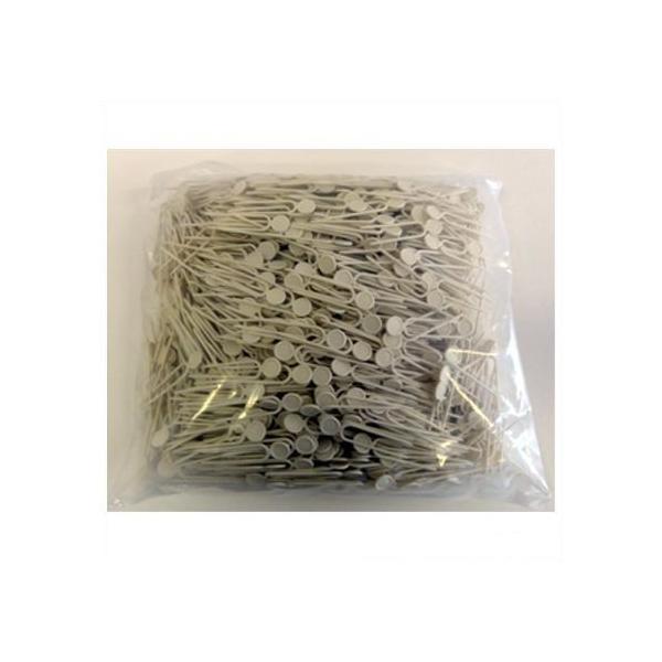 槍木産業 ミニプラ君(イチゴ育苗固定ピン) 白 6.4CM