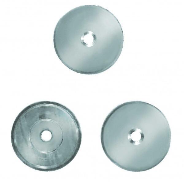 和気産業 マグネット補助プレート 丸 寸法(大きさ×厚さ):30×2mm MGP-002