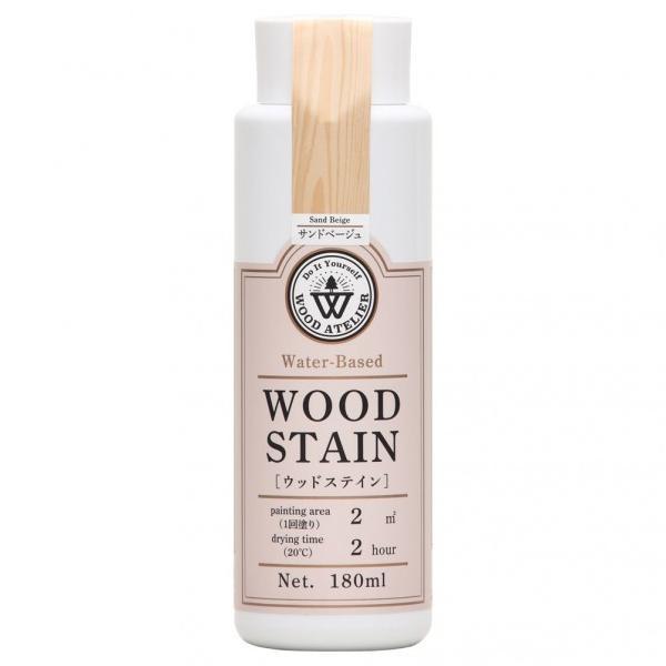 Wood Atelier Wood Atelier ウッドステイン サンドベージュ  ニス・ステイン類 800667