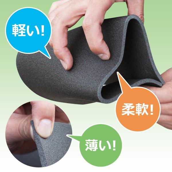 防音 断熱 下地材 床デコシート防音タイプ  切り売り  遮音マット 遮音シート 防音対策|diystyle|09