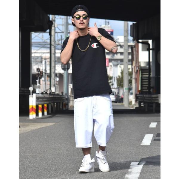 ハーフパンツ メンズ ストレッチ 涼しい シンプル 無地 春夏 大きいサイズ|dj-dreams|08