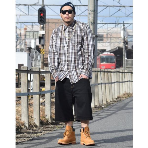 ハーフパンツ メンズ ストレッチ 涼しい シンプル 無地 春夏 大きいサイズ|dj-dreams|02