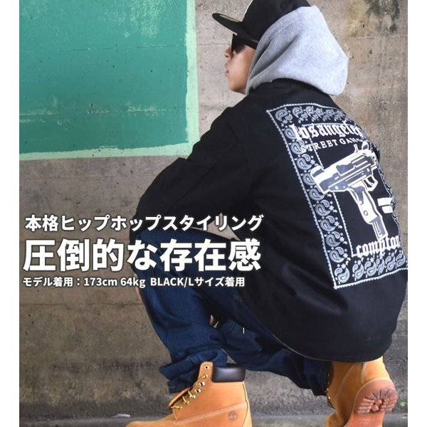 ワークジャケット メンズ 春 ブランド 大きいサイズ ダックジャケット カバーオール DOP|dj-dreams|02