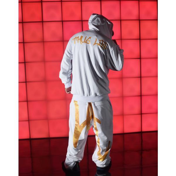 セットアップ メンズ スウェット ブランド 秋冬 大きいサイズ おしゃれ 上下セット LAプリント パーカー スエットパンツ DOP|dj-dreams|13