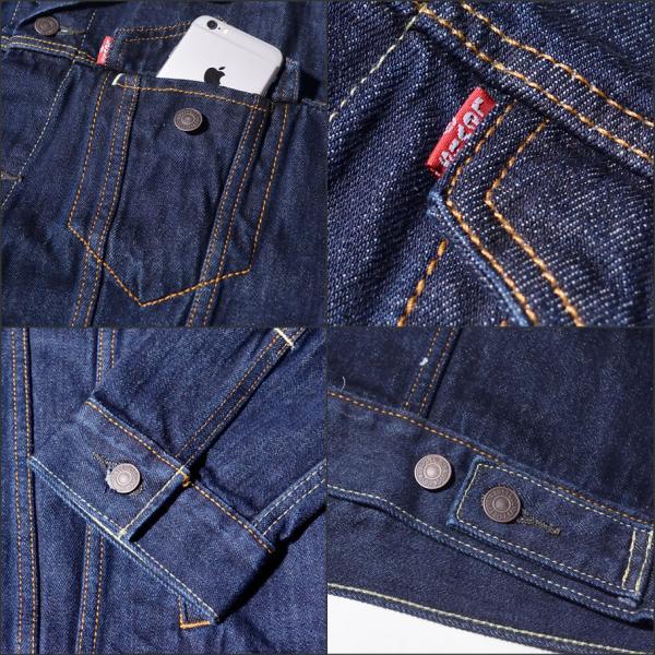 リーバイス ジージャン デニムジャケット USモデル LEVI'S 72334 メンズ Gジャン 大きいサイズ|dj-dreams|11