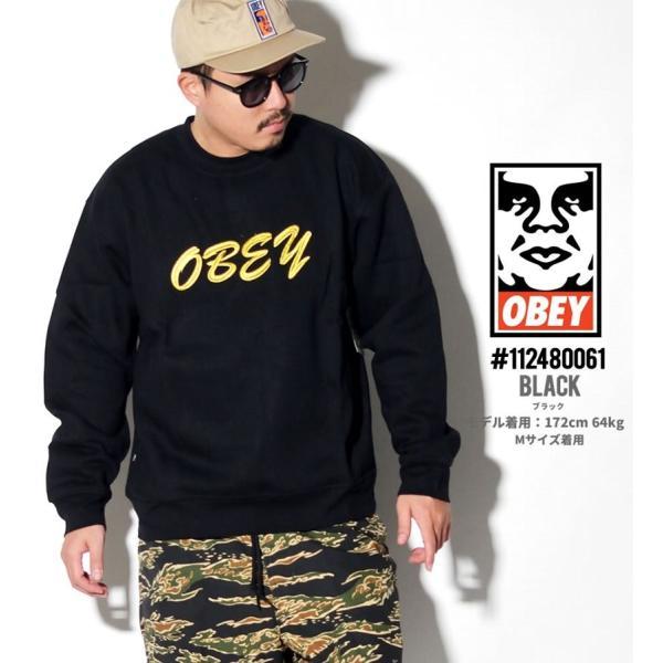 オベイ OBEY トレーナー メンズ スウェット ブランド おしゃれ コーデ 厚手 裏起毛 112480061 大きいサイズ dj-dreams 02