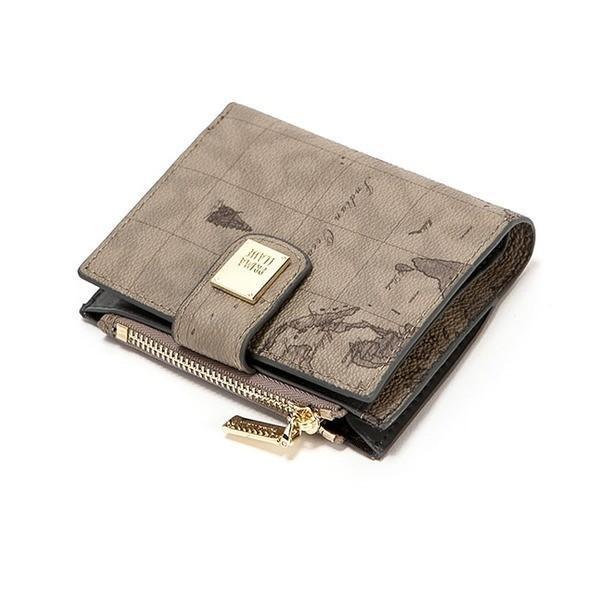 PRIMA CLASSE(プリマクラッセ) P-7503-1 たっぷり収納コンパクトミニ財布 (グレイ)