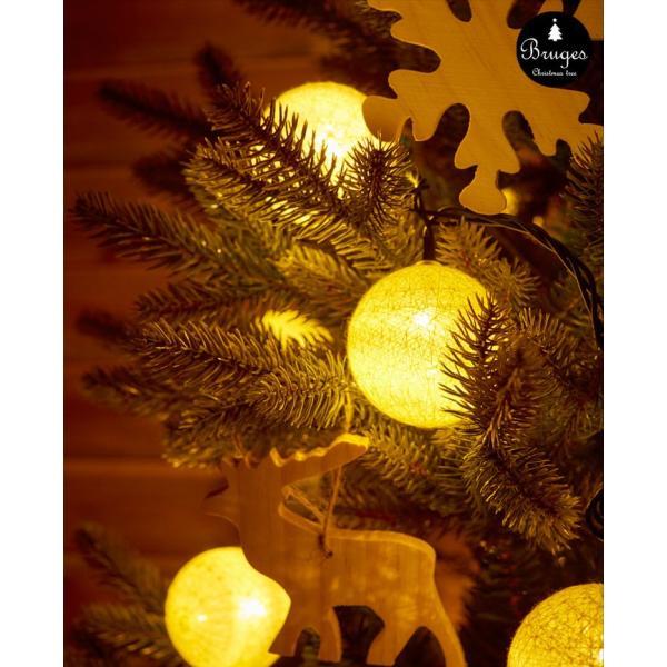 クリスマスツリー 120cm 樅 北欧  おしゃれ led オーナメント 飾り セット 鉢カバー付 ブルージュ クリスマス 子供部屋|dko|15