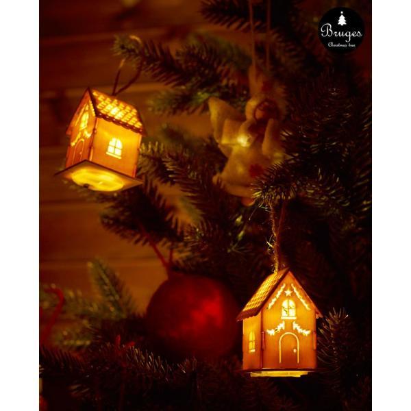 クリスマスツリー 120cm 樅 北欧  おしゃれ led オーナメント 飾り セット 鉢カバー付 ブルージュ クリスマス 子供部屋|dko|17