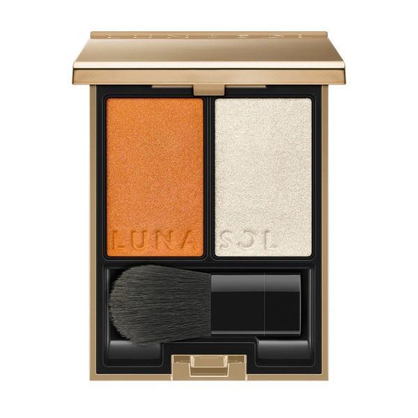 ルナソル ルナソル LUNASOL カラーリンググレイズ EX02 Suntan Orange 限定色【メール便可】(874646)の画像
