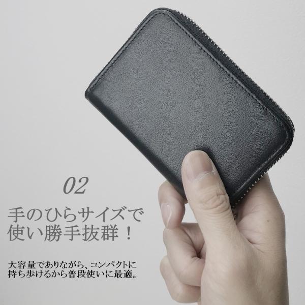 bc6512b5b4ab ... 小銭入れ コインケース メンズ レディース 本革 ブランド カード キーチェーン付 ...
