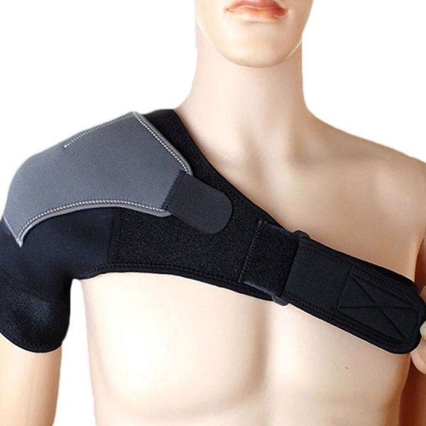 Do well 肩サポーター 肩痛 脱臼 肩固定 サポート 肩こり 四十肩 五十肩 ストレッチ マジックテープ式 男女兼用 フリーサイズ 肩 サポーター|do-well