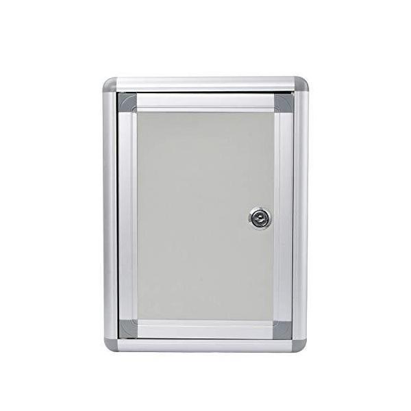 鍵付き ボックス 募金箱 応募箱 投票箱 ご意見箱 オフィス 会社 職場 多目的 ボックス 軽量 壁掛け 持ち運びやすい