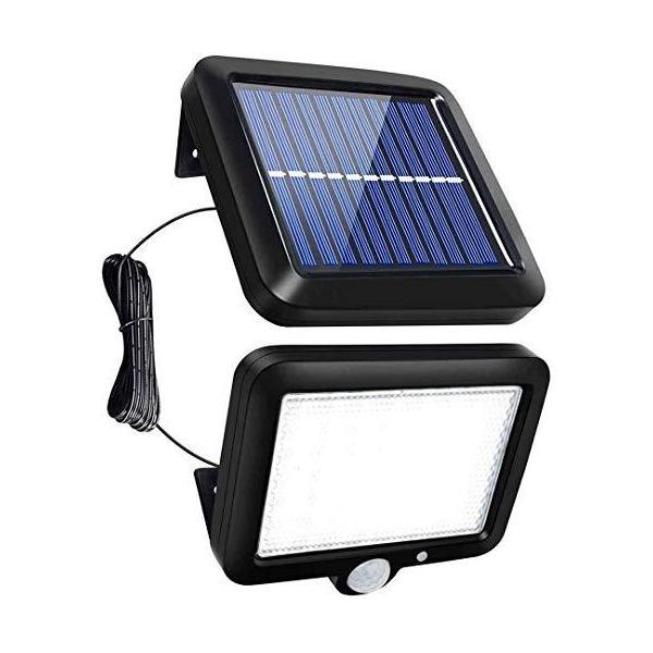 人感 センサーライト 屋外 ソーラーライト 56 LED 超高輝度 3...
