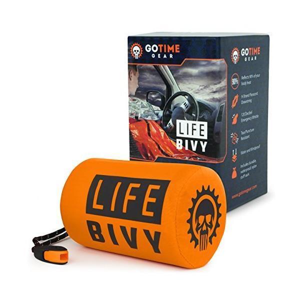 Go Time Gear Life Bivy 緊急用 サバイバルシート 軽量 コンパクト 常時携帯推奨