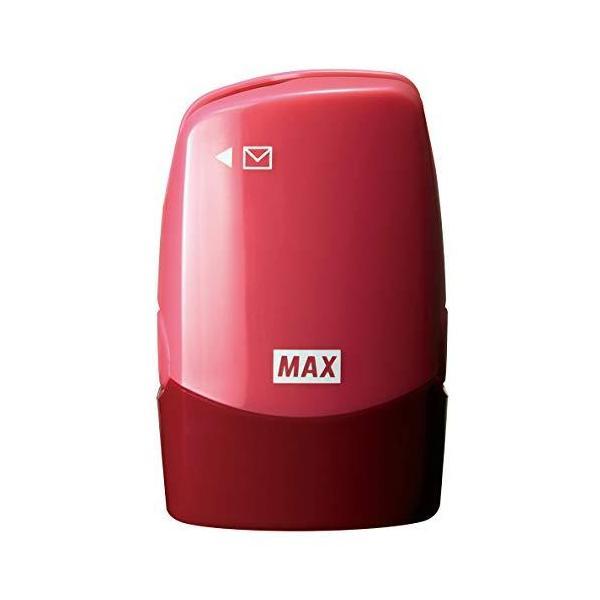 マックス 個人情報保護スタンプ レターオープナー付き コロレッタ ピンク SA-151RL/P2