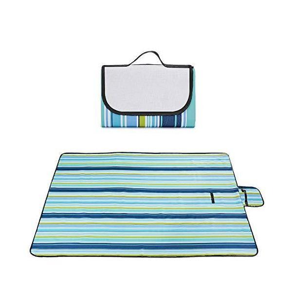レジャーシート ピクニック シート マット 厚手 折畳み 4〜6人用 150X200cm 保温防寒 底部防水 洗える 快適な座り心地 軽量 持ち運び