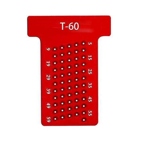T-60 木工T型 スコヤ 定規 木工 大工ケガキ工具 大工道具diy 工具 測定 高精度 1mm 穴間隔 アルミ製