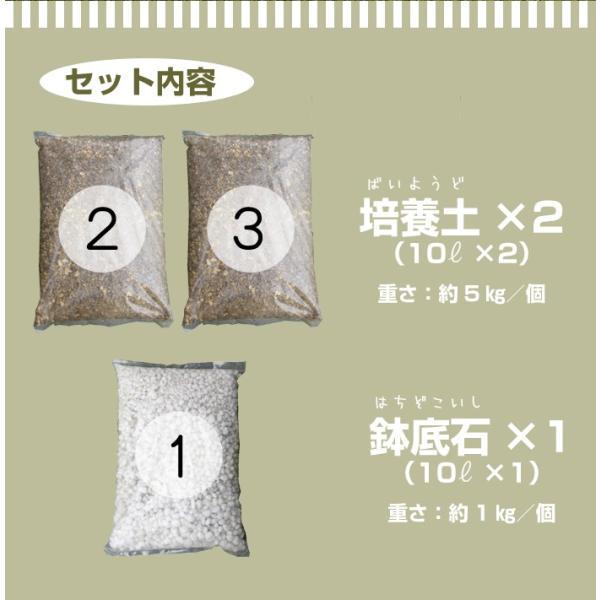初めての方 おすすめ オリジナル商品 かんたん培養土 家庭菜園 植木 ハーブ スターター 土 セット 30L|doanosoto|03
