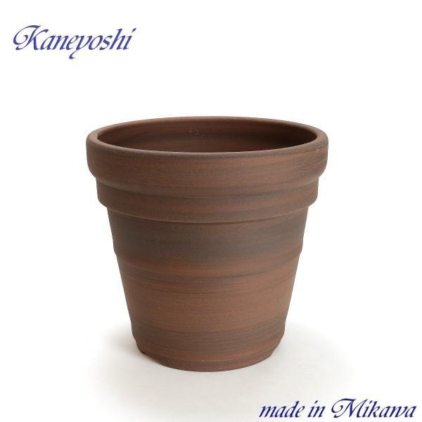 植木鉢 陶器 おしゃれ 鉢カバー サイズ 28cm 安くて丈夫 MEX メキシカン 9号 ブラウン|docchan