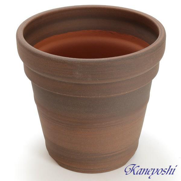 植木鉢 陶器 おしゃれ 鉢カバー サイズ 28cm 安くて丈夫 MEX メキシカン 9号 ブラウン|docchan|02