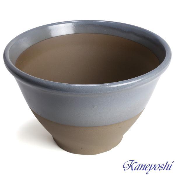 植木鉢 陶器 おしゃれ サイズ 31cm 安くて丈夫 アリア ローズグレー 10号|docchan|02