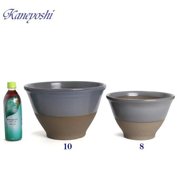 植木鉢 陶器 おしゃれ サイズ 31cm 安くて丈夫 アリア ローズグレー 10号|docchan|05
