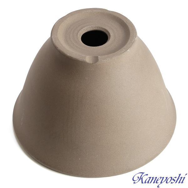 植木鉢 陶器 おしゃれ サイズ 25.5cm 安くて丈夫 フラワーボール モカ8号|docchan|04