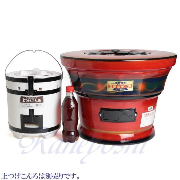 【送料無料】安心の日本製 心あたたまる レンタン火鉢 赤|docchan|10