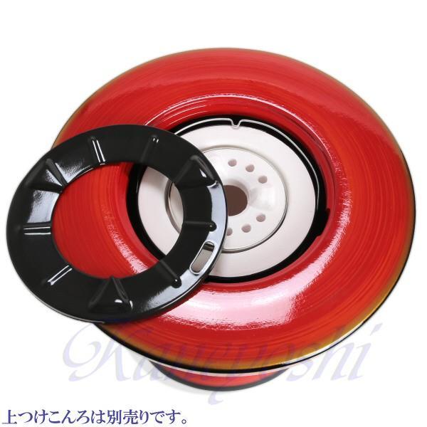 【送料無料】安心の日本製 心あたたまる レンタン火鉢 赤|docchan|05